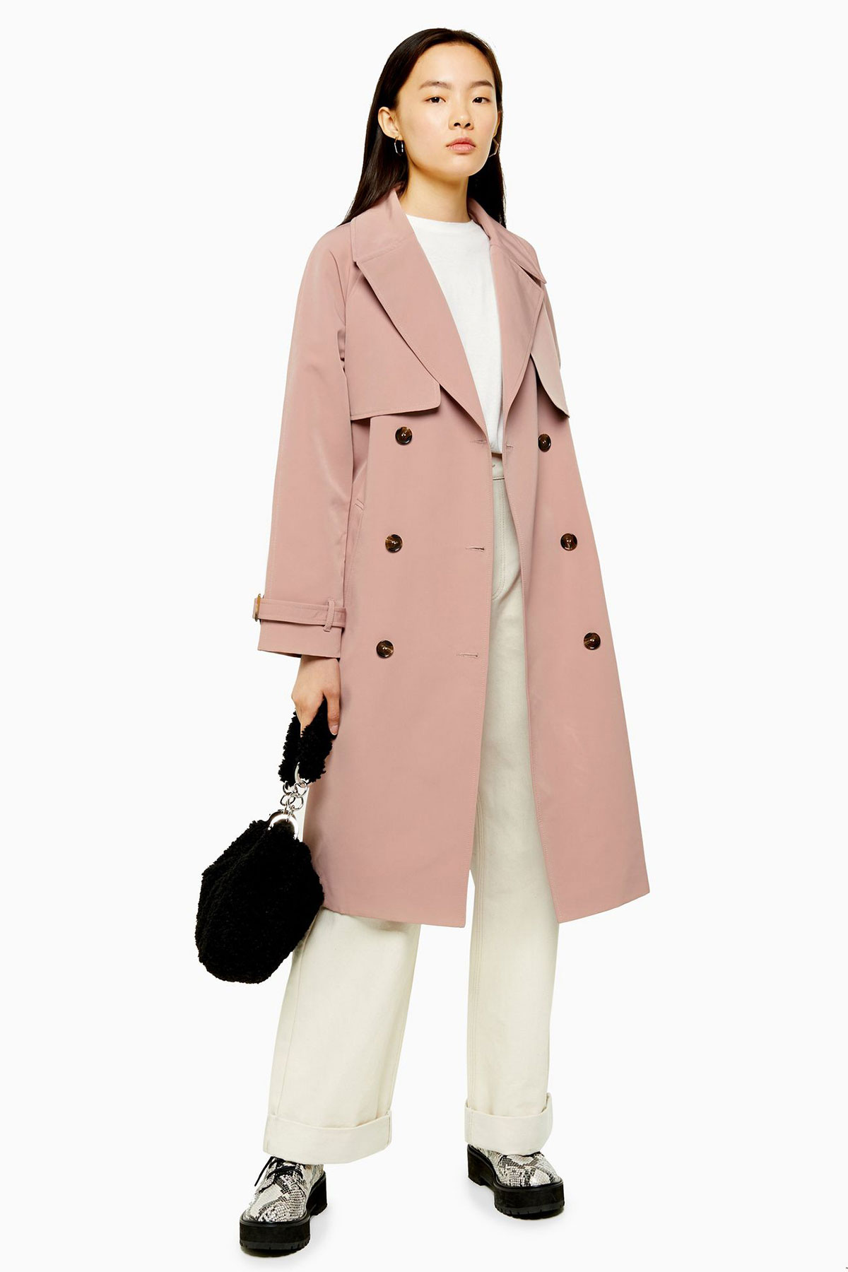 Blake Lively Get the Look Pink Trench Dress