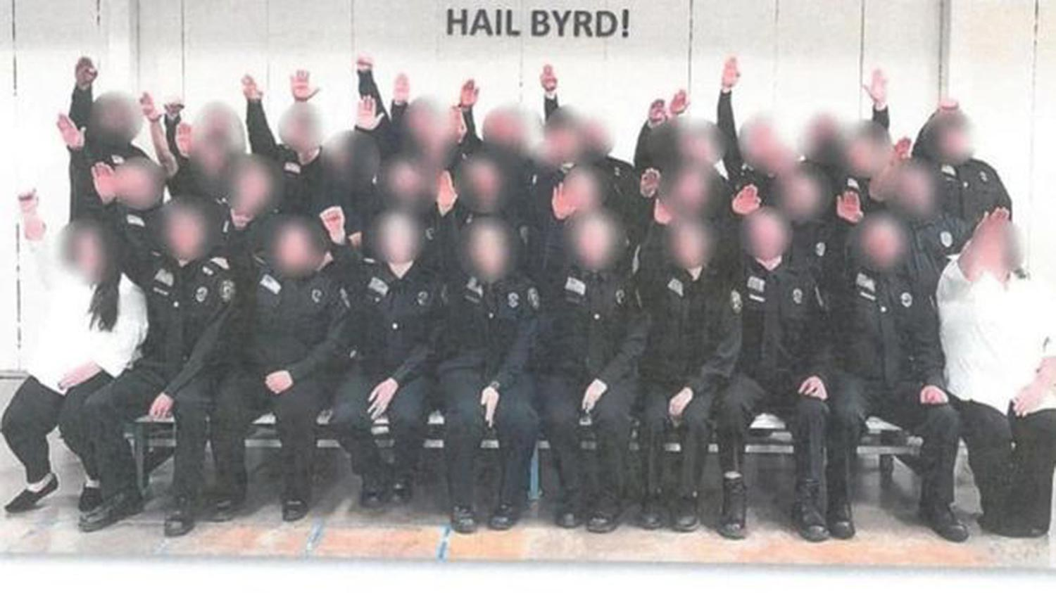 West Virginia prison cadets fired over Nazi salute