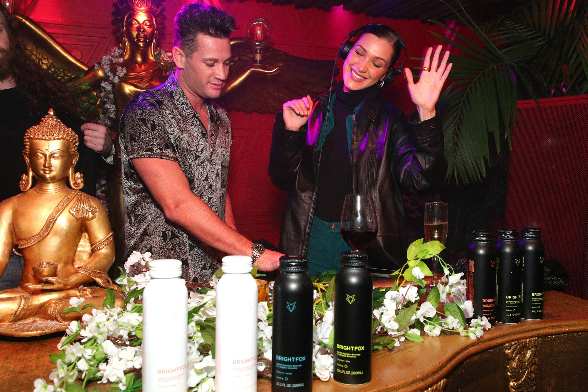 BrightFox At The La Detresse L.A. Stress Launch Party - New York Fashion Week February 2020