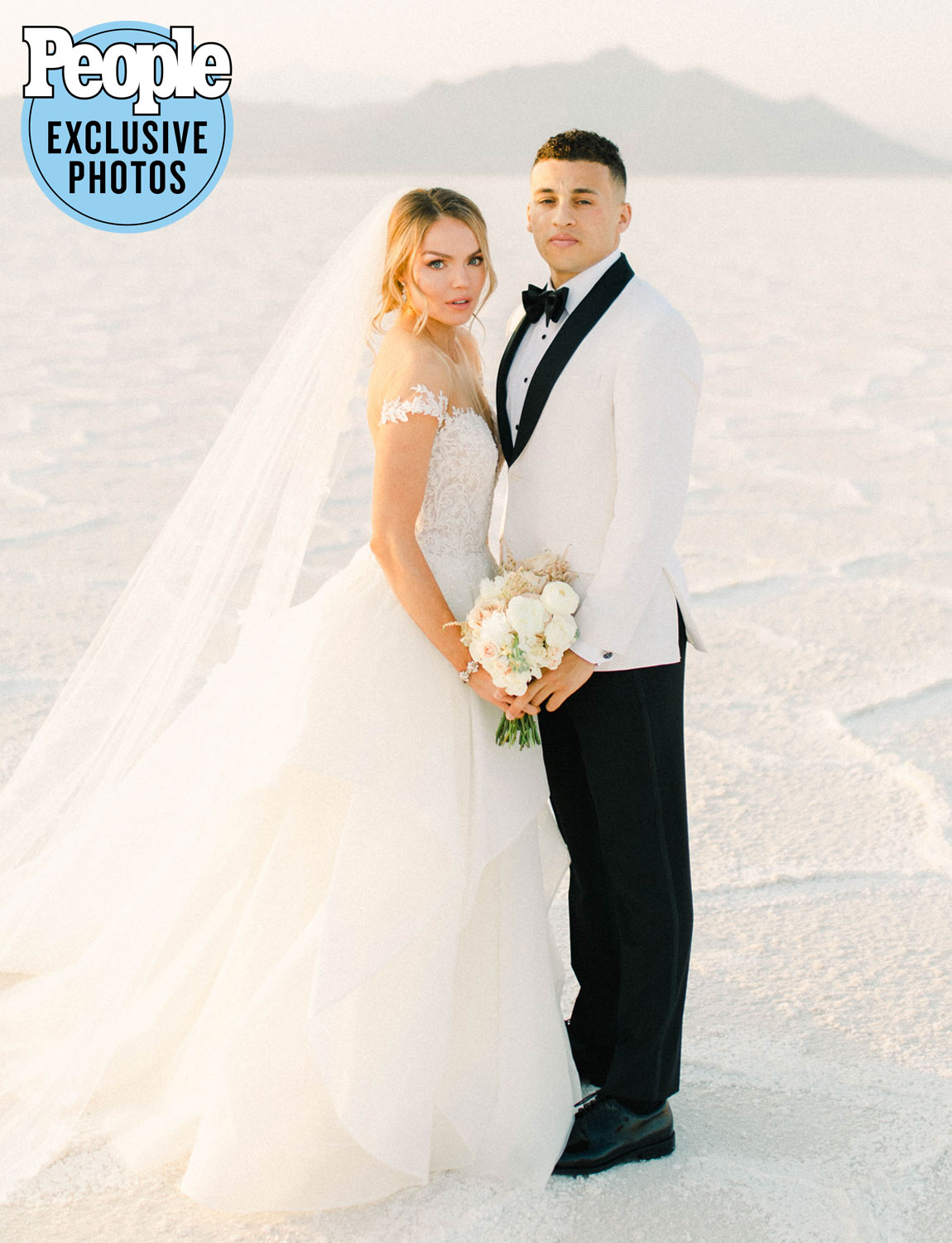 """Hawkins just lept into married life.                             The American track and field athlete married longtime love O'Neal III on Sept. 27, PEOPLE confirmed exclusively.                             The happy couple, who met in 2010 in a training group for theUtah State University track and field team and got engaged in May 2017, said """"I do"""" at River Bottoms Ranch in Midway, Utah.                             Hawkins said she and O'Neal III were tested for coronavirus before and after the indoor and outdoor event, which was limited to just close family and friends due to the COVID-19 pandemic. Temperature checks were taken on-site, and guests were seated by household or family. All tables and seating areas were situated six-feet apart, and food was served plated. Sanitation stations were available throughout the venue and face masks were provided to those who arrived without.                             """"Our goal was to follow all state and county guidelines to ensure that we had a safe and successful event,"""" the heptathlete tells PEOPLE, noting, """"We also proactively created our wedding to be more static than interactive as an additional precaution."""""""
