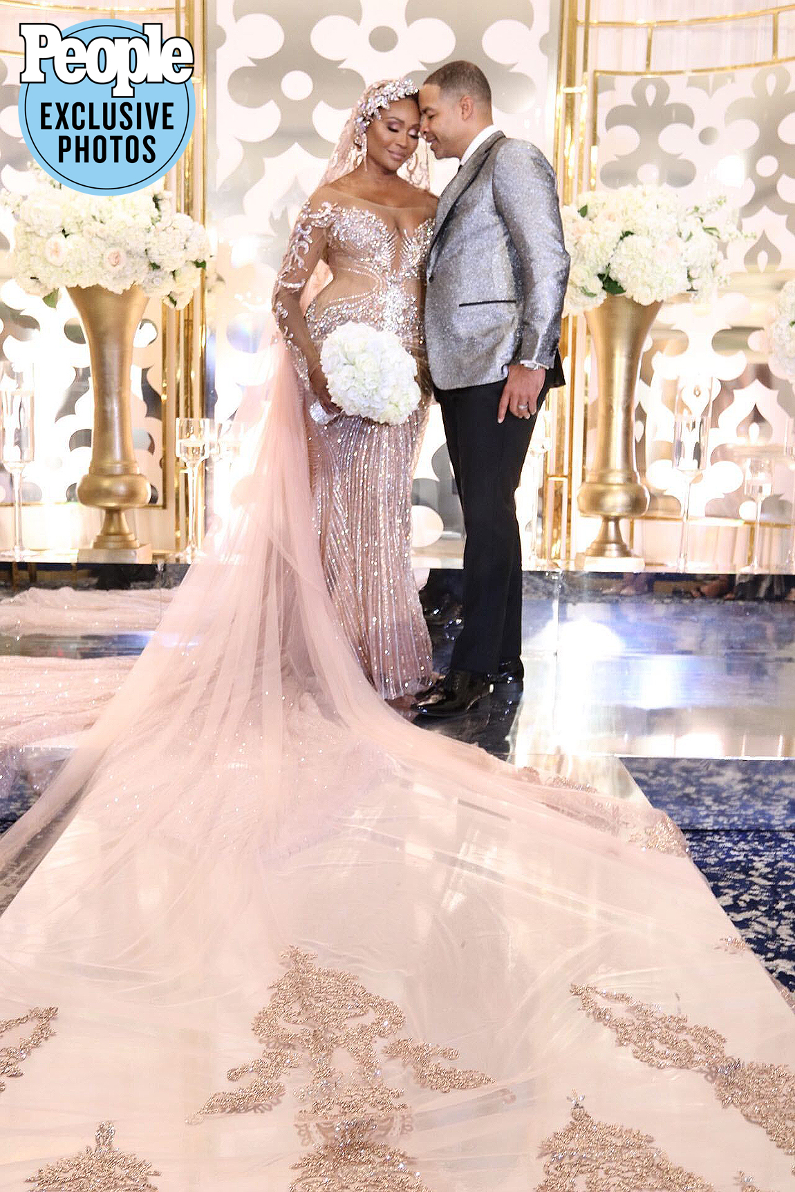 """The Real Housewives of Atlanta star said """"I do"""" to her forever #CHILL partner on Oct. 10 during a lavish wedding ceremony at the Governors Towne Club in Acworth, Georgia, PEOPLE has exclusively revealed.                             """"Mike and I are elated that today has finally come! 10/10/20 is and always will be our perfect date. We are not perfect, but, are perfect for each other,"""" the newlyweds told PEOPLE. """"We are living in a very different time, and now more than ever we realize that life is too short, and to never take anything for granted. We are so grateful to have found each other. Love with the help of God conquers all.""""                             The bride wore a gown by Nneka C. Alexander ofBrides by Nonaalong with Badgley Mischka shoes and a headpiece by Bridal Styles Boutique. The couple exchanged rings from Rockford Collection and Beverly Diamonds during the celebratory event, put together by wedding planner Courtney Ajinça.                             The couple exchanged vows in front of 250 guests, including Bailey's reality show costarsKandi Burruss,Kenya MooreandformerRHOAcastmateEva Marcille, who served as bridesmaids.                             """"I couldn't imagine my day without them,"""" Bailey said."""