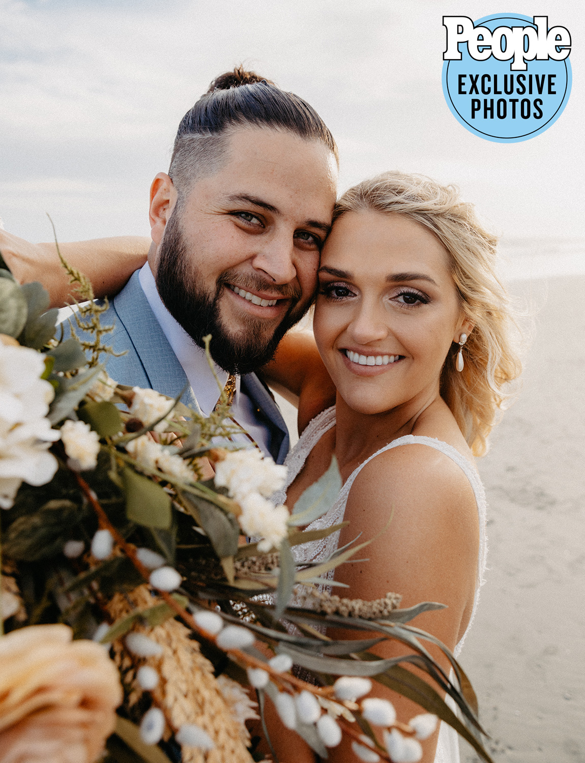 """The rising country singer married his fianceé, Paige Korte, on Oct. 20, after dating for three years. The two made it official in a """"very intimate"""" ceremony in Isle of Palms, South Carolina, on the same beach where Korte's parents got engaged 32 years ago.                             The couple said their """"I Dos"""" in front of close friends and family, including maids of honor Brooke Korte and Dana Sheehan, bridesmaids Taylor Gablehouse, Julia Rogers, Jenna Root and Taylor Morin, best men Chris Perkins and Drew Filmore and groomsmen Zach Abend, John Luke Carter, Blake Wellington, Cam Lutz and Dusty Barker.                             Filmore's bus driver, Rick Griffith, married the couple, who both wrote their own vows.David Kodner Personal Jewelerdid the rings."""