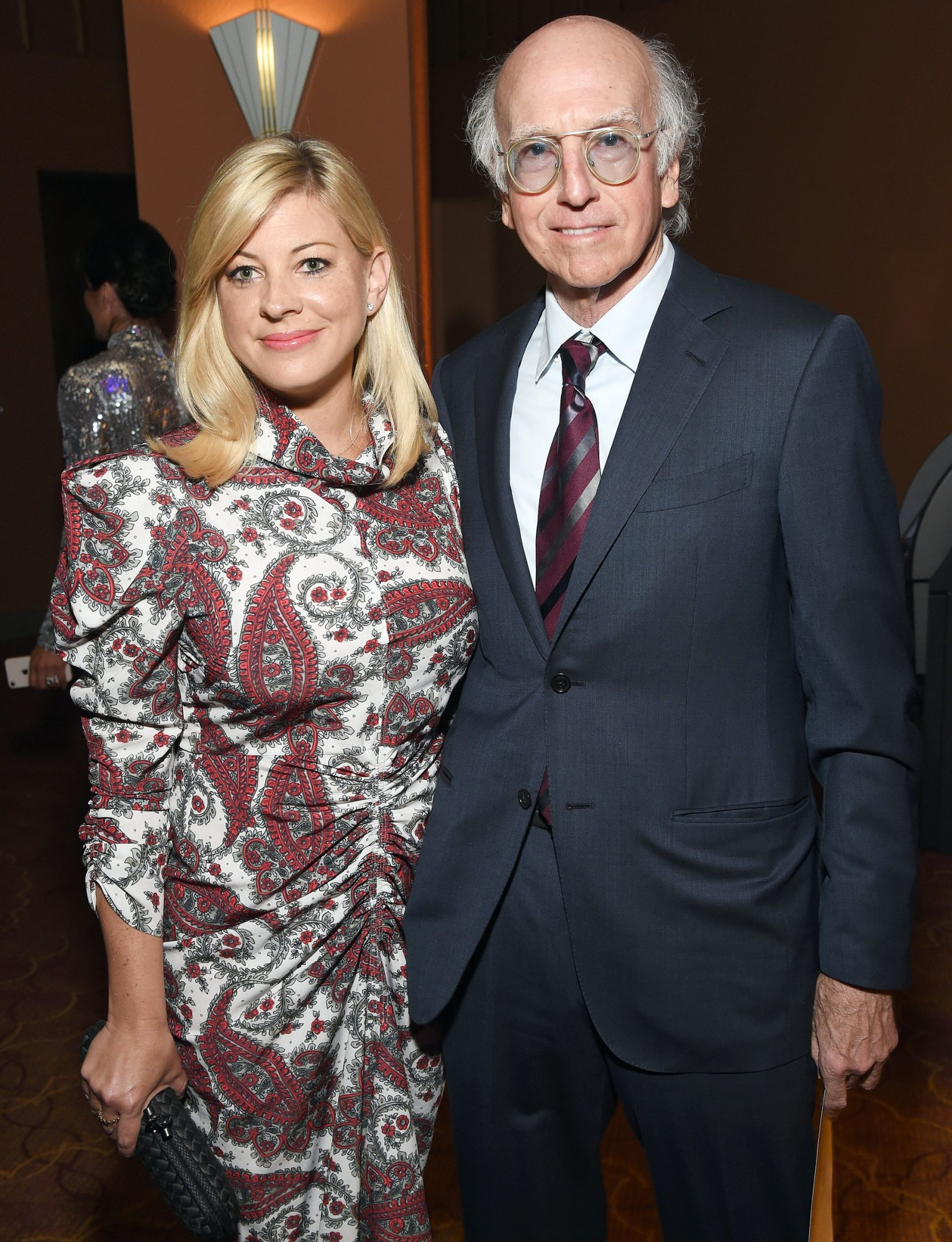 TheCurb Your Enthusiasm creator and star, 73, wed his girlfriend Ashley Underwood on Oct. 7 in Southern California, PEOPLE has learned.                             David and Underwood met in 2017 atSacha Baron Cohen's birthday party, David revealed in aNew York Timesprofile in April. Underwood worked as a producer on Cohen's Showtime satire series,Who Is America?, and is friends with Cohen's wifeIsla Fisher, who guest-starred in the most recent season ofCurb Your Enthusiasm.                             It's the second marriage for the comedian, who was married to environmental activist Laurie David for 14 years. The two, who share daughtersCazzie, 26, and Romy, 24,splitin 2007.