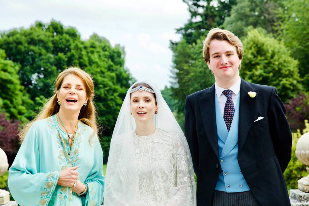 """Princess Raiyah of Jordan married the British journalist in England on July 7 - and American-born mom Queen Noorwas there to celebrate.                             """"Thank you all for your kind messages on our wedding!,"""" Princess Raiyah posted onTwitter shortly afterward.                             """"While it was originally planned for April in Jordan, the pandemic derailed those plans and it was safer for my husband's family to hold it in the UK,"""" she added alongside an image of the wedding party enjoying the couple's socially-distanced big day.                             """"God willing we look forward to celebrating in Jordan once the situation allows.""""                             Princess Raiyah became engaged to Donovan - grandson of acclaimed children's author Roald Dahl - on October 26, 2019."""
