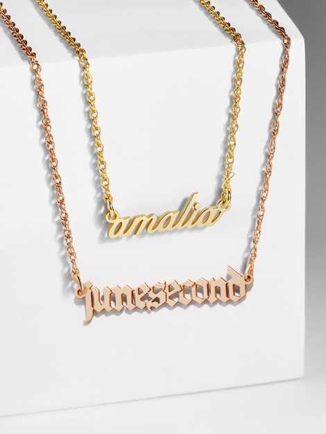 Lizzo BaubleBar necklace