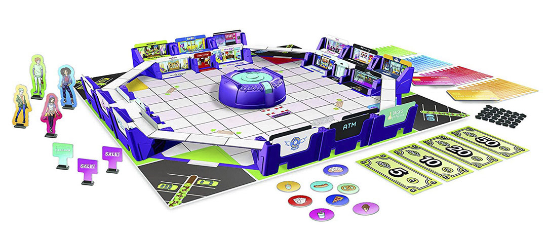 Mall Madness Talking Electronic Shopping Spree Board Game