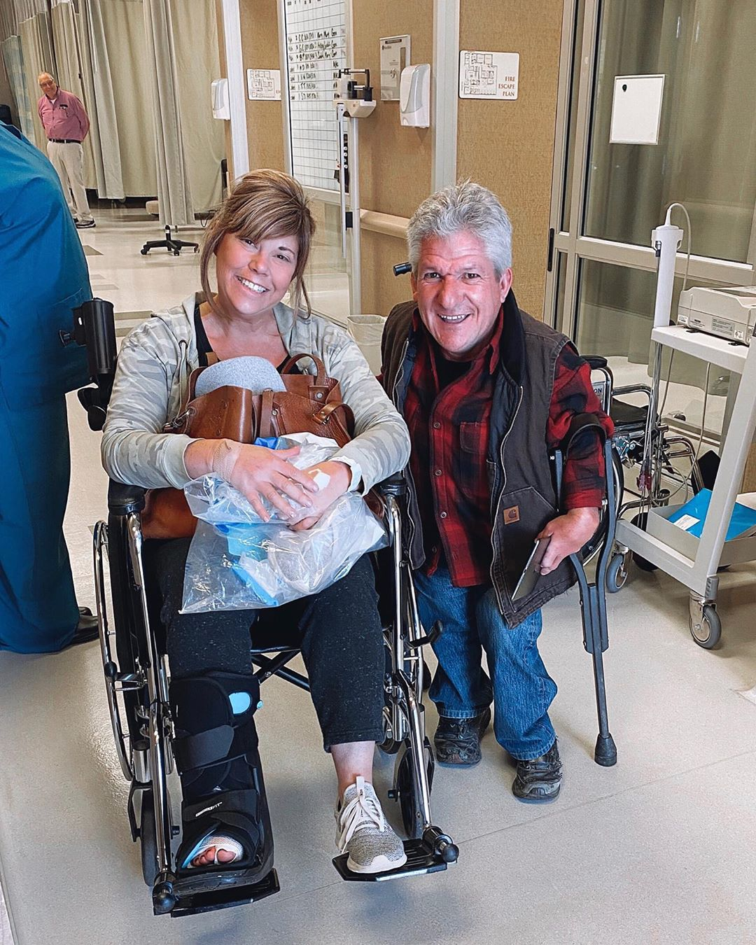 Matt Roloff's Girlfriend Caryn Chandler Hospitalized for 'painful bone spur' Procedure
