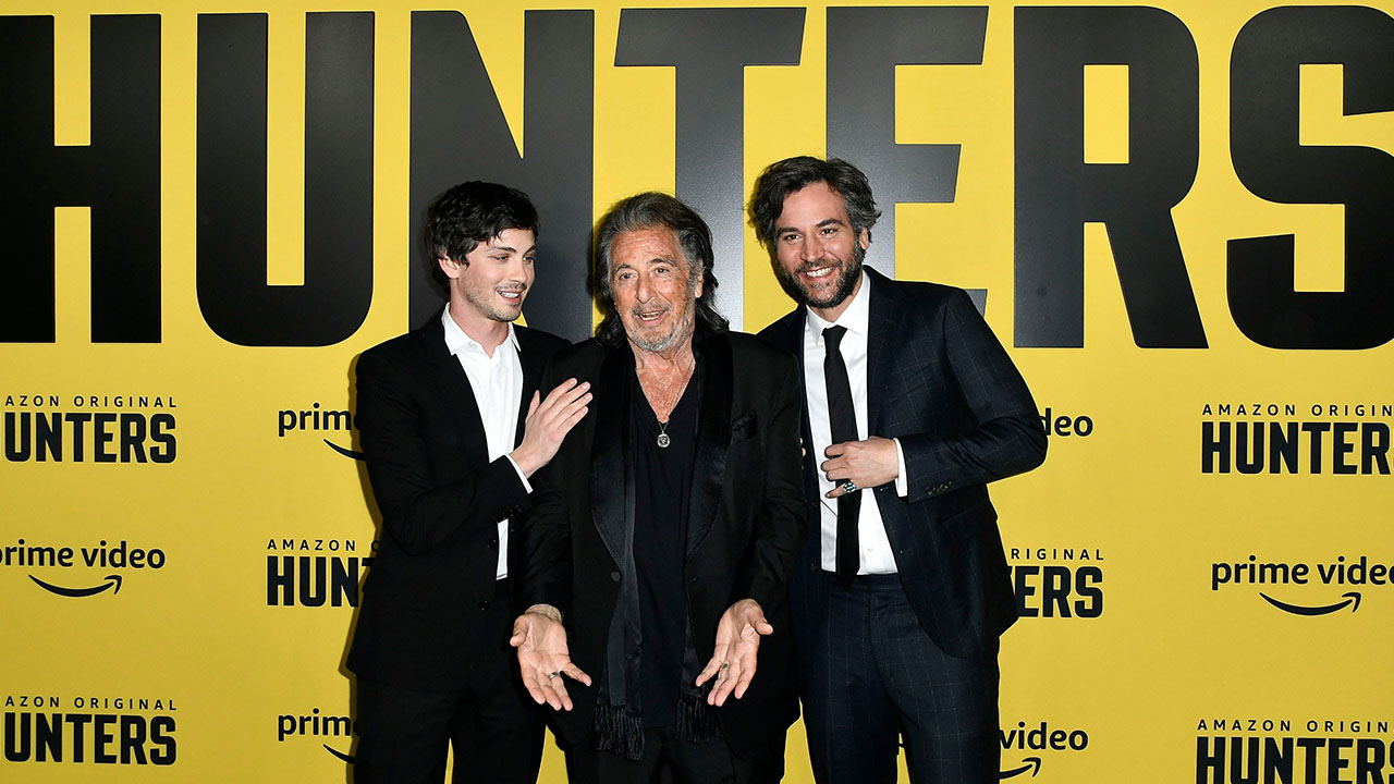 Al Pacino 'Became a Friend' to Logan Lerman, Josh Radnor & Cast of 'Hunters' During Production