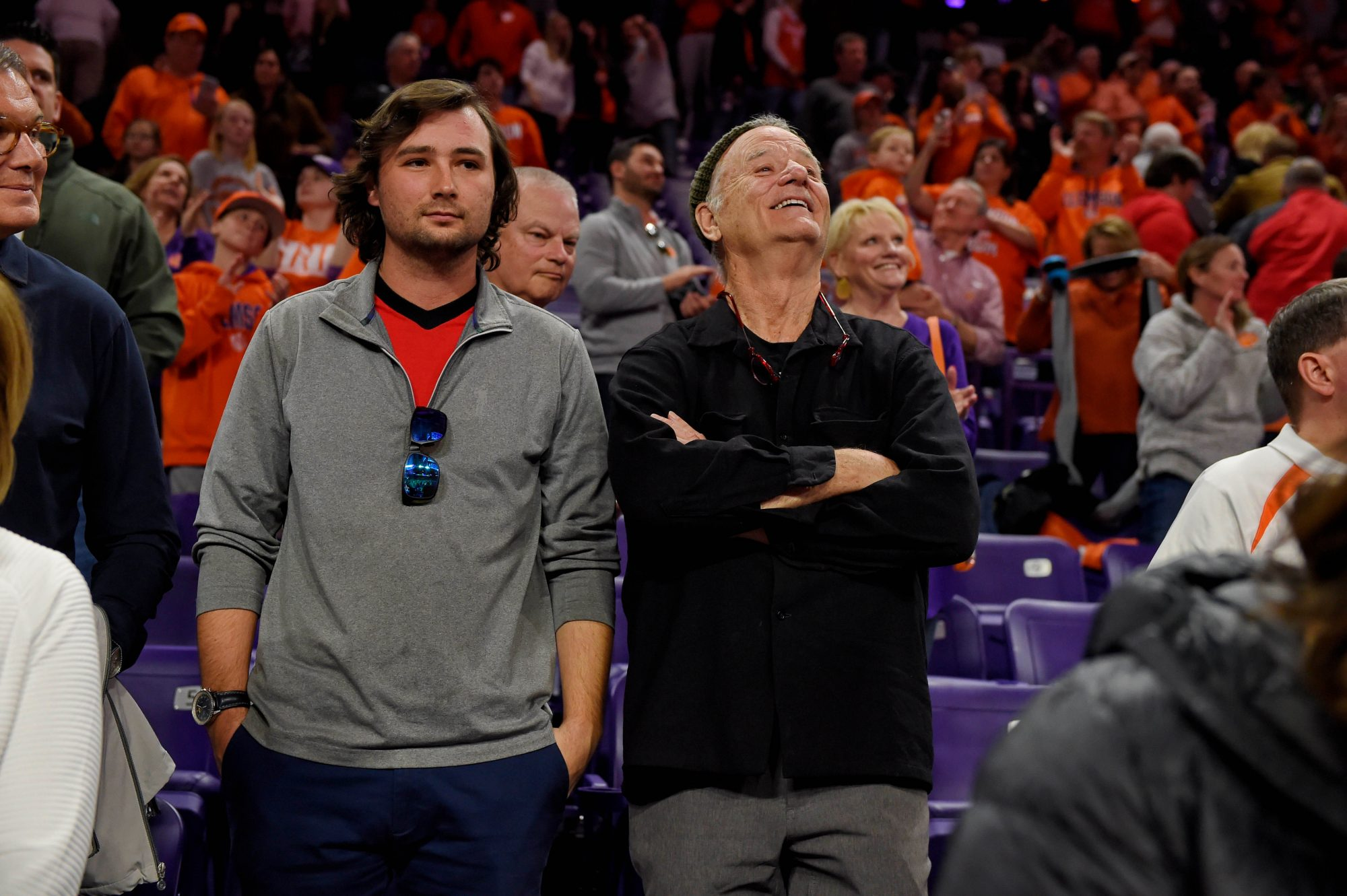 bill Murray and son