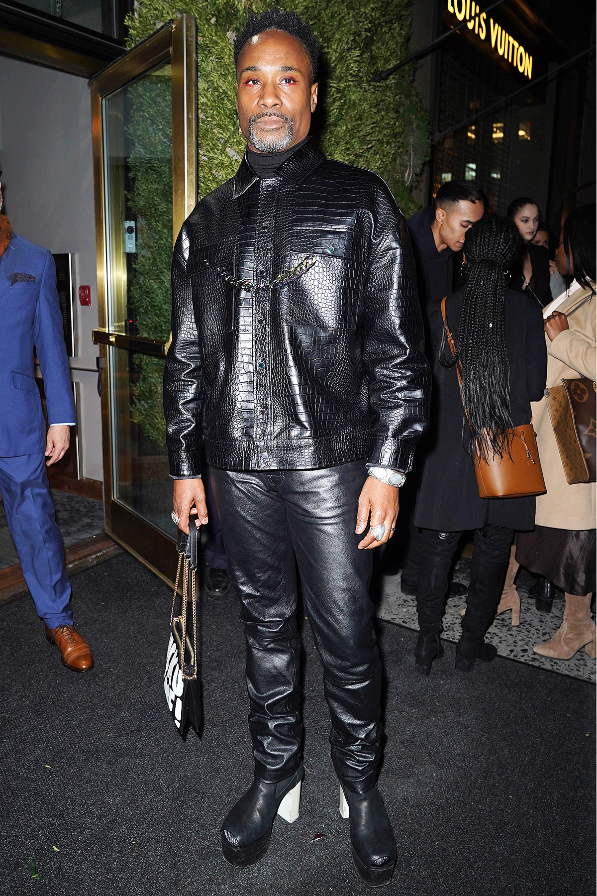 Billy Porter is seen on February 4, 2020 in New York City.