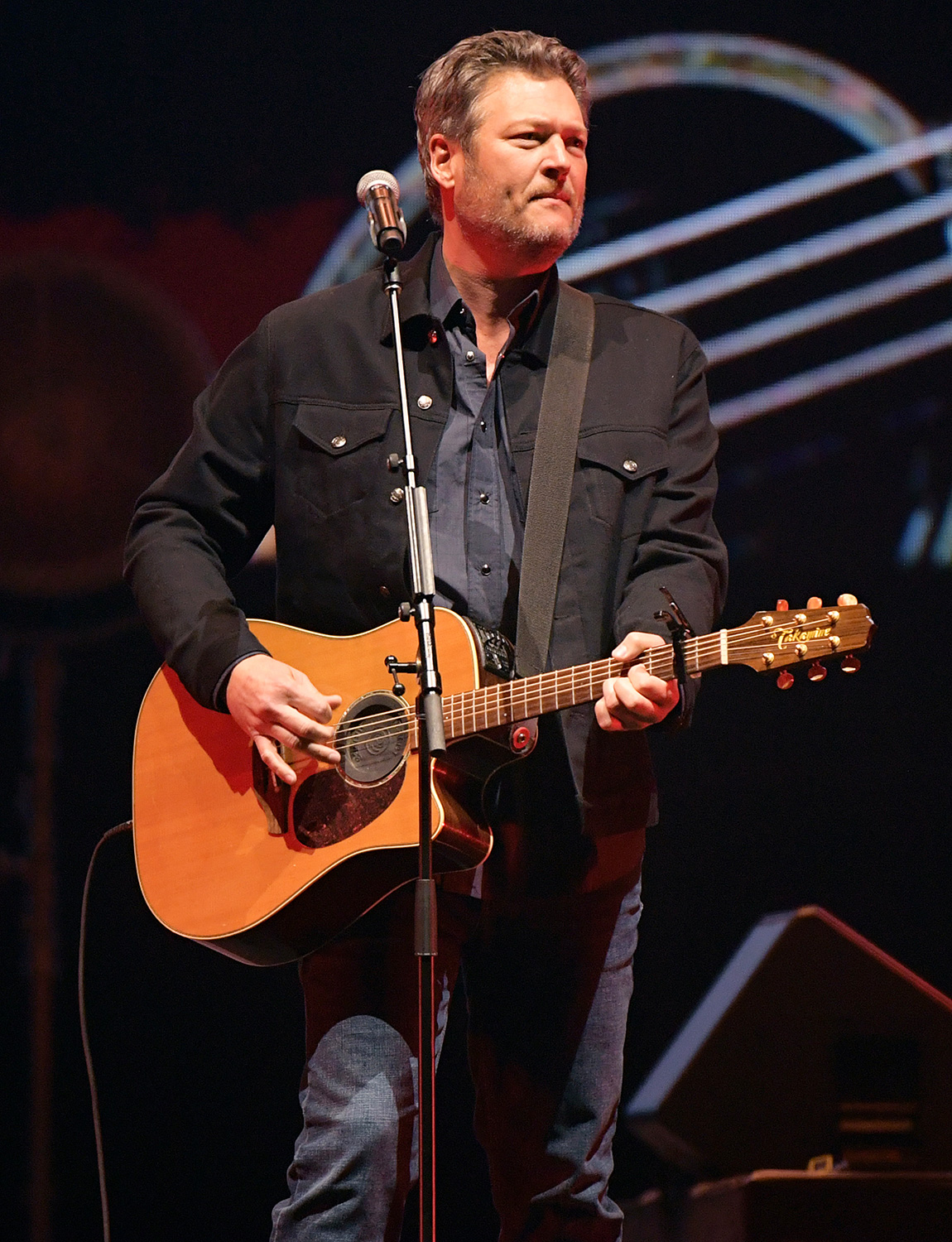 Blake Shelton performs at All for the Hall: Under the Influence Benefiting the Country Music Hall of Fame and Museum at Bridgestone Arena on February 10, 2020, in Nashville, Tennessee