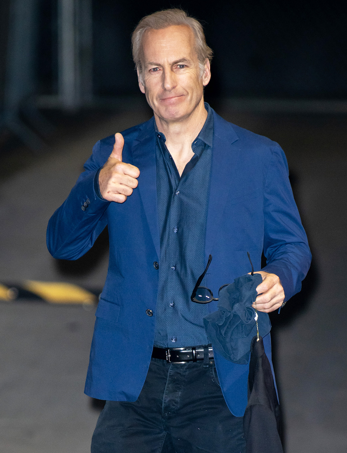 Bob Odenkirk is seen at 'Jimmy Kimmel Live' on February 26, 2020 in Los Angeles, California