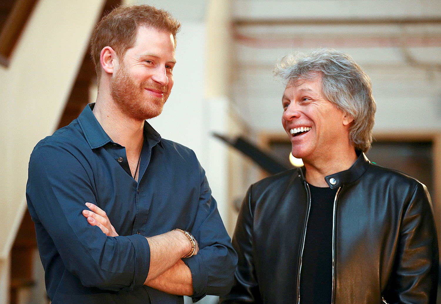 Prince Harry, Duke of Sussex; Jon Bon Jovi