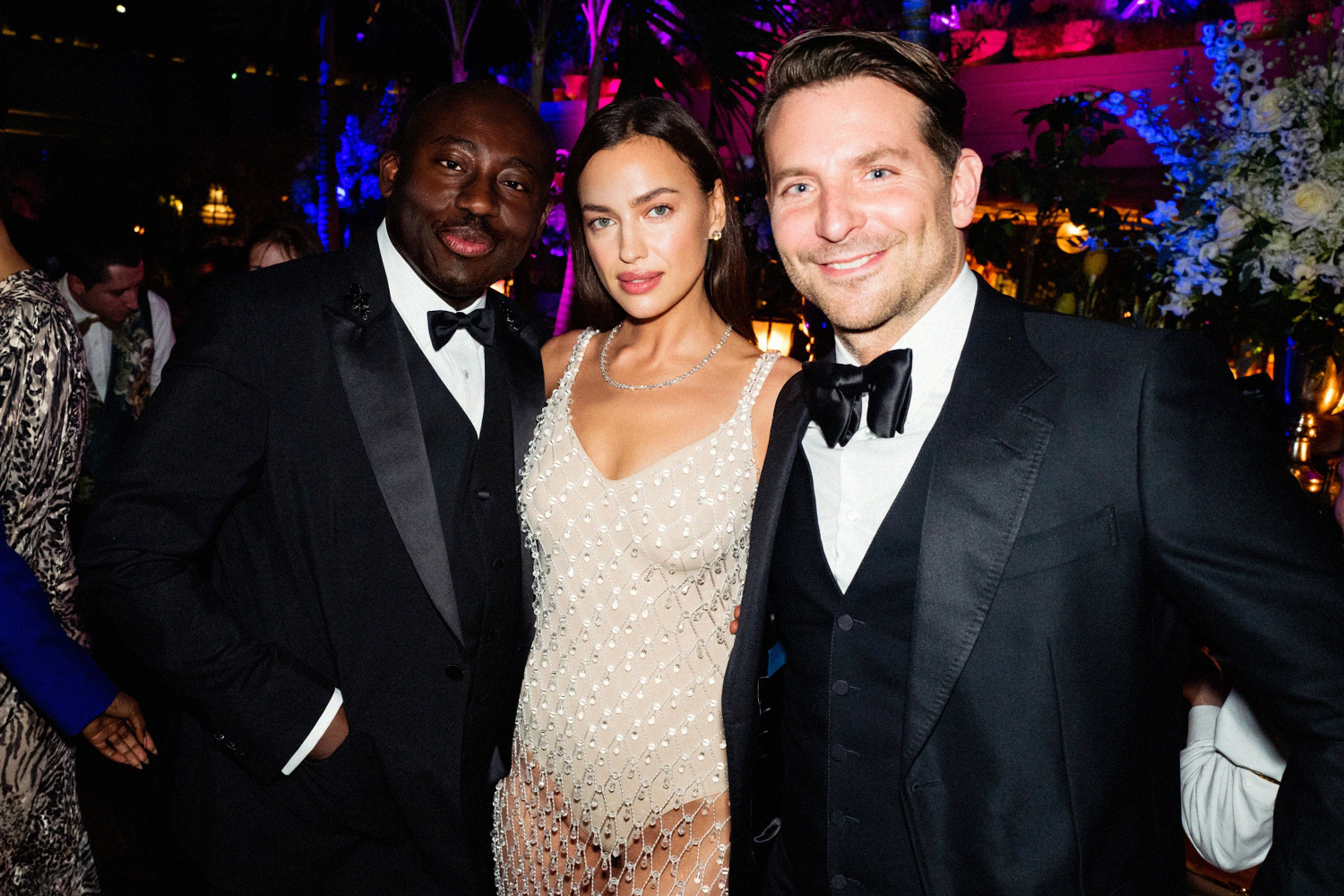 Bradley Cooper and Irina Shayk British Vogue and Tiffany & Co. celebrate Fashion and Film Party at Annabel's