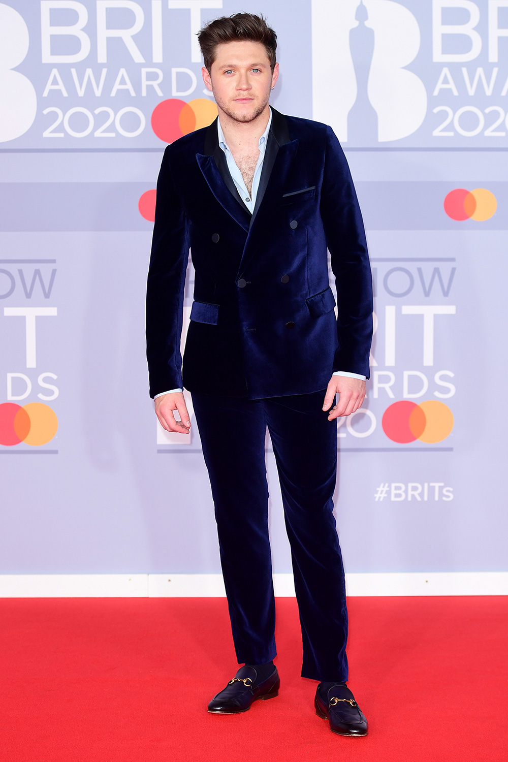 Niall Horan arriving at the Brit Awards 2020