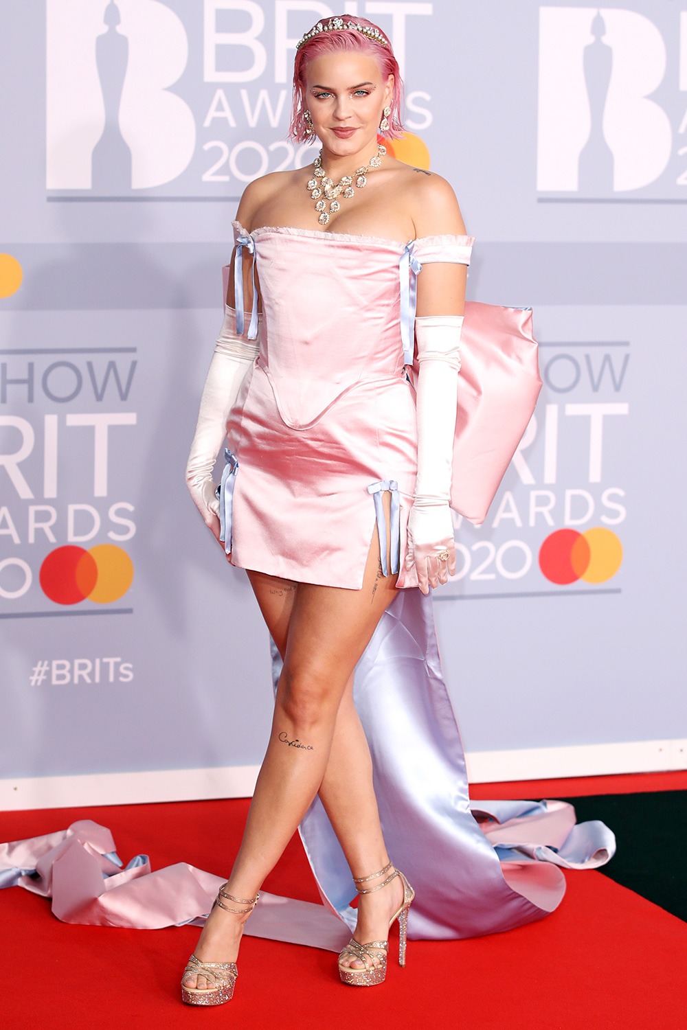 Anne-Marie attends The BRIT Awards 2020