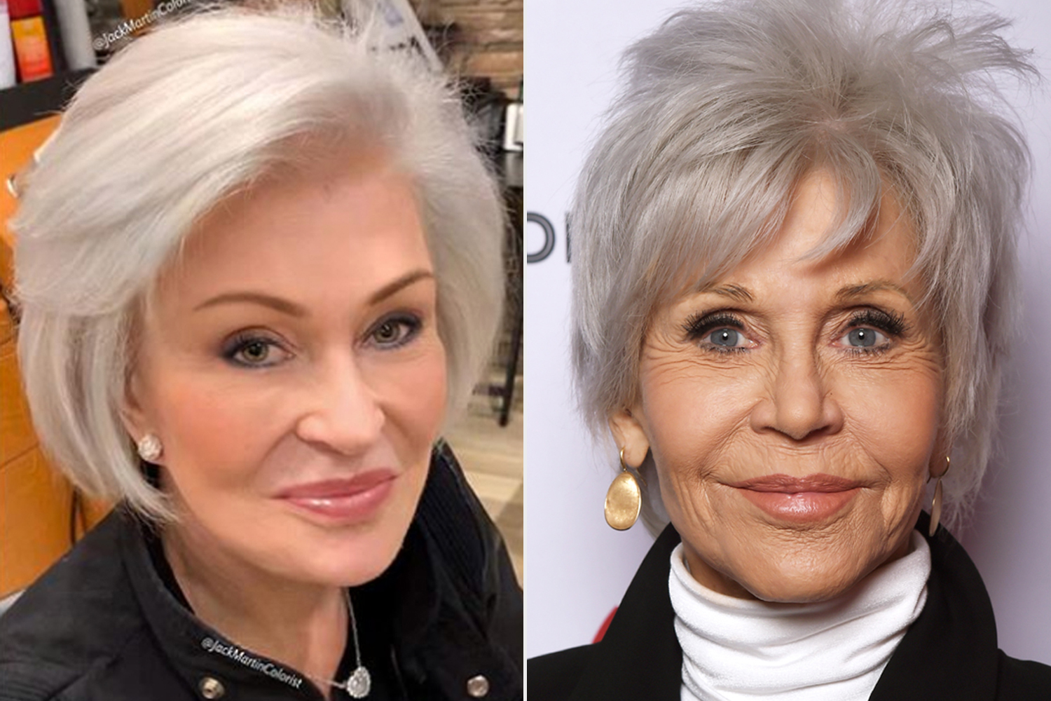 celebs who went grey
