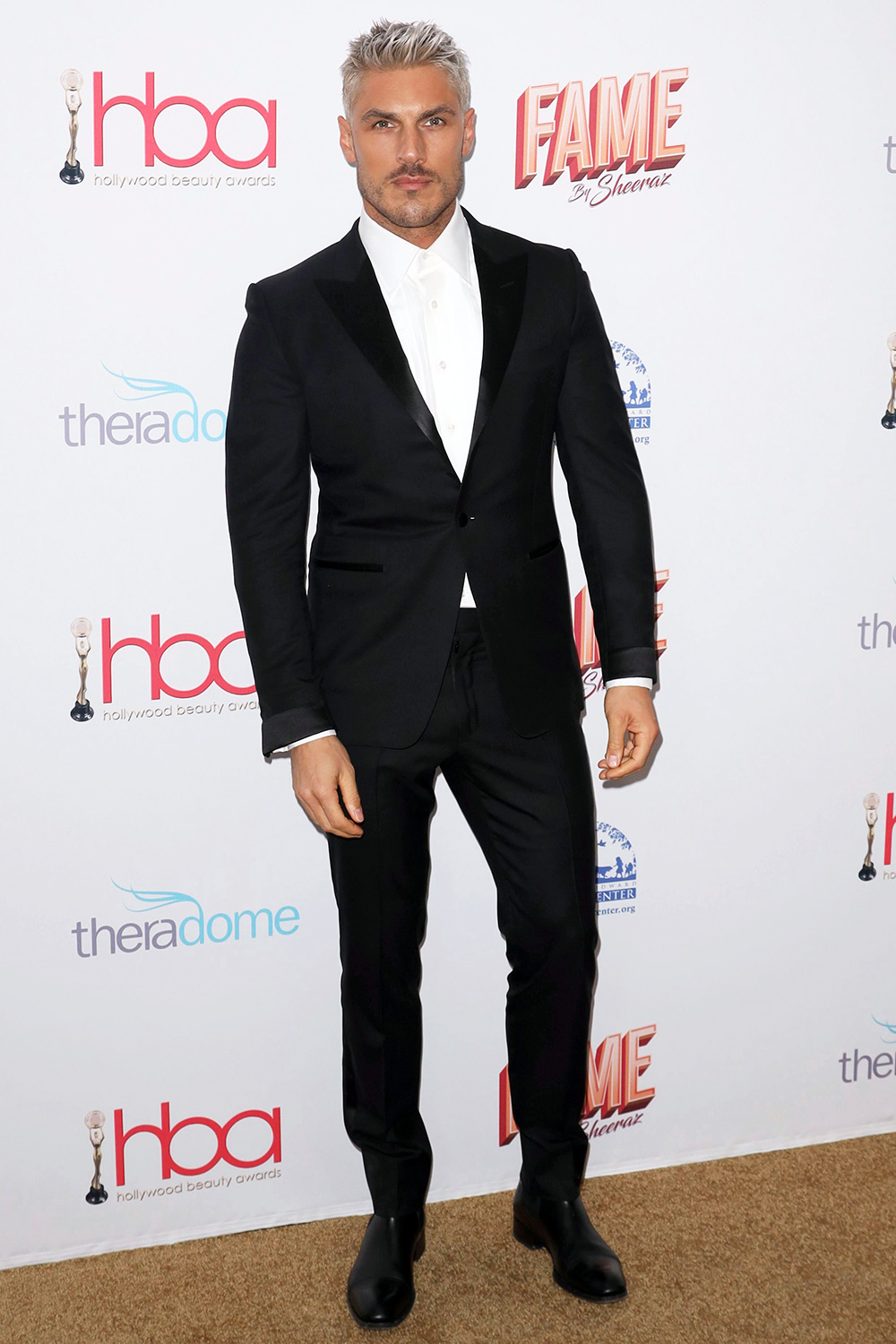 Chris Appleton arrives at the 6th Annual Hollywood Beauty Awards at the Taglyan Complex, in Los Angeles 6th Annual Hollywood Beauty Awards, Los Angeles, USA - 06 Feb 2020