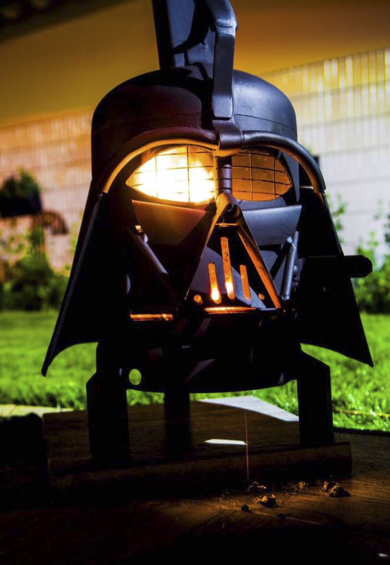 Darth Vader Outdoor Grill