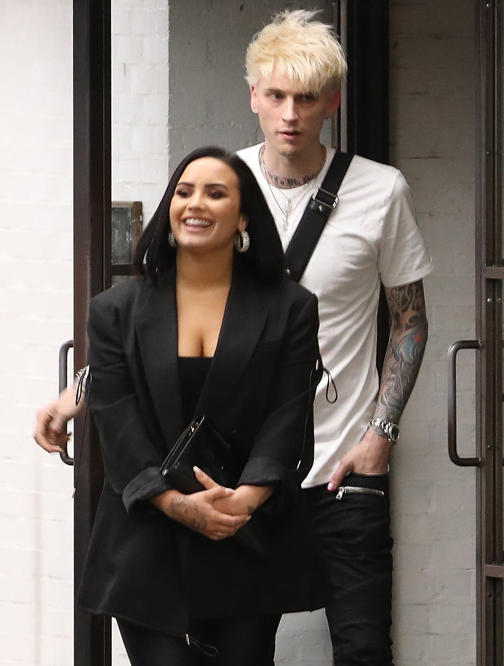 Demi Lovato and Machine Gun Kelly