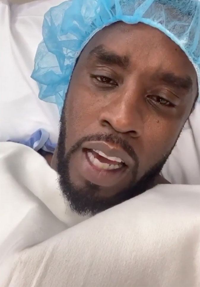 Diddy goes into surgery