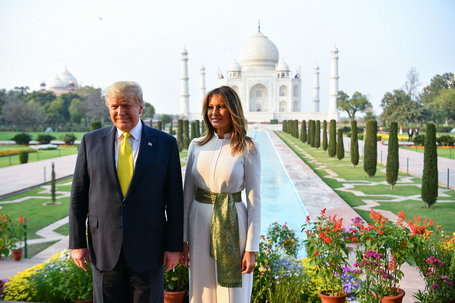 Donald Trump and First Lady Melania Trump