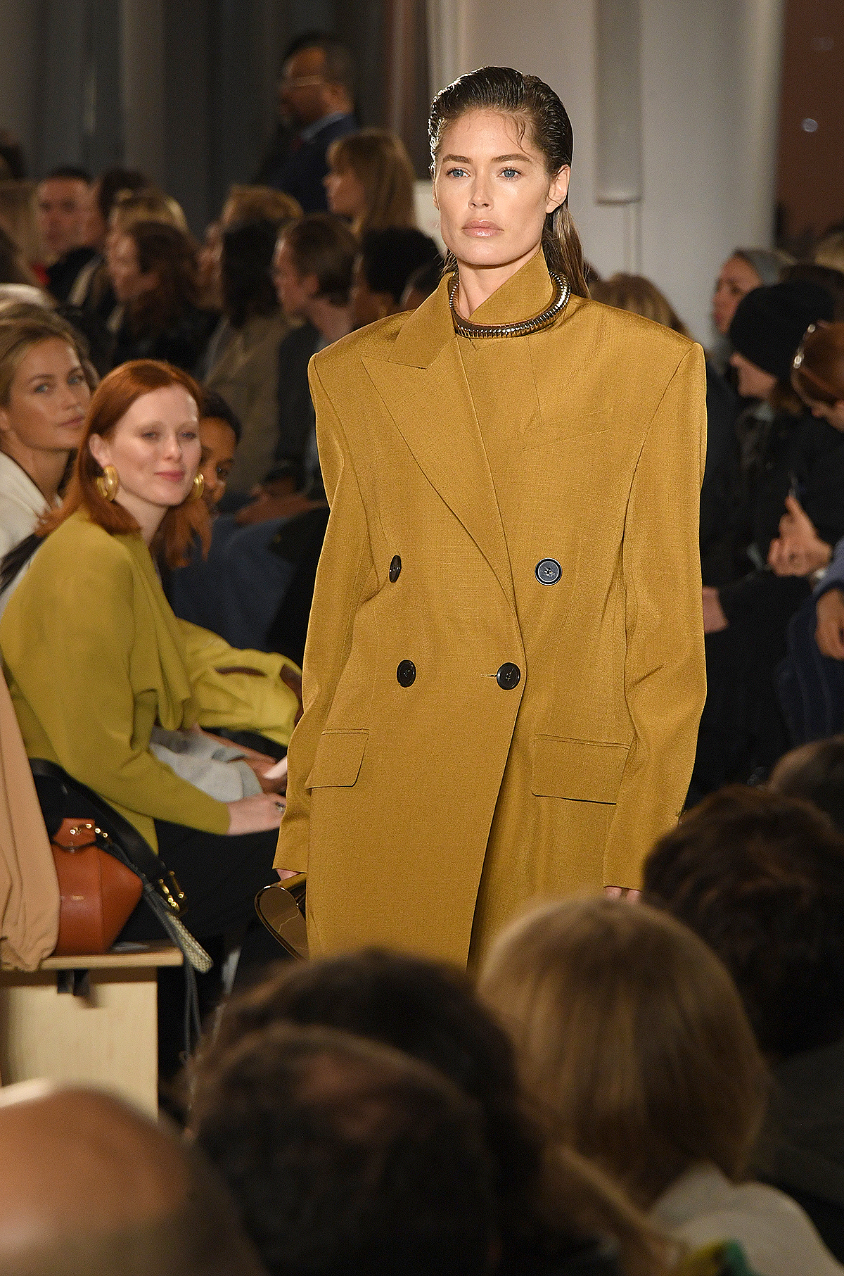 Doutzen Kroes walks the runway for the Proenza Schouler fashion show February 2020 - New York Fashion Week: The Shows on February 10, 2020