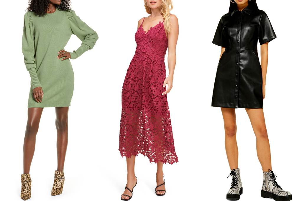 Nordstrom Winter Sale dresses
