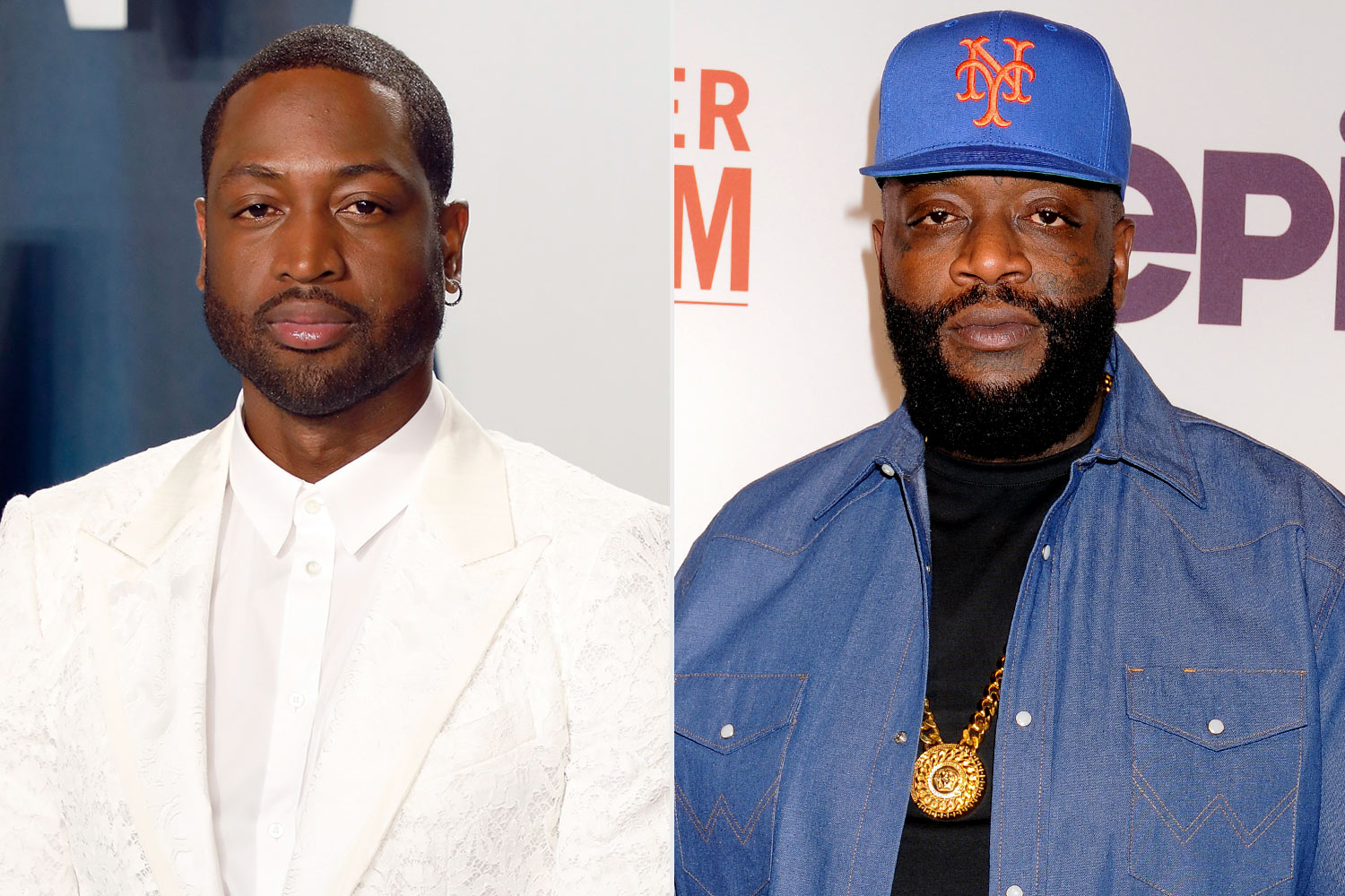 Dwyane wade and Rick Ross