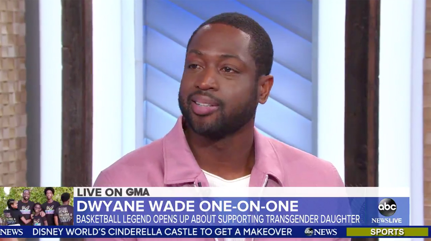 Dwyane Wade Says 12-Year-Old Daughter Zaya Knew 'for 9 Years' She Was Transgender