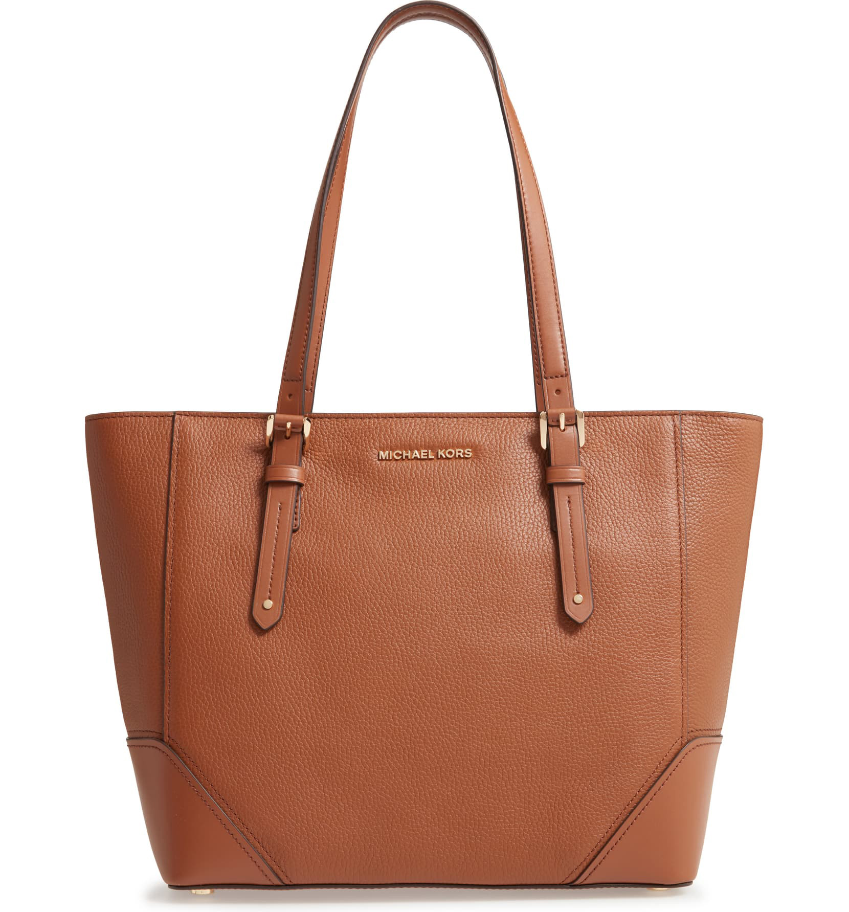 Large Leather Tote MICHAEL MICHAEL KORS