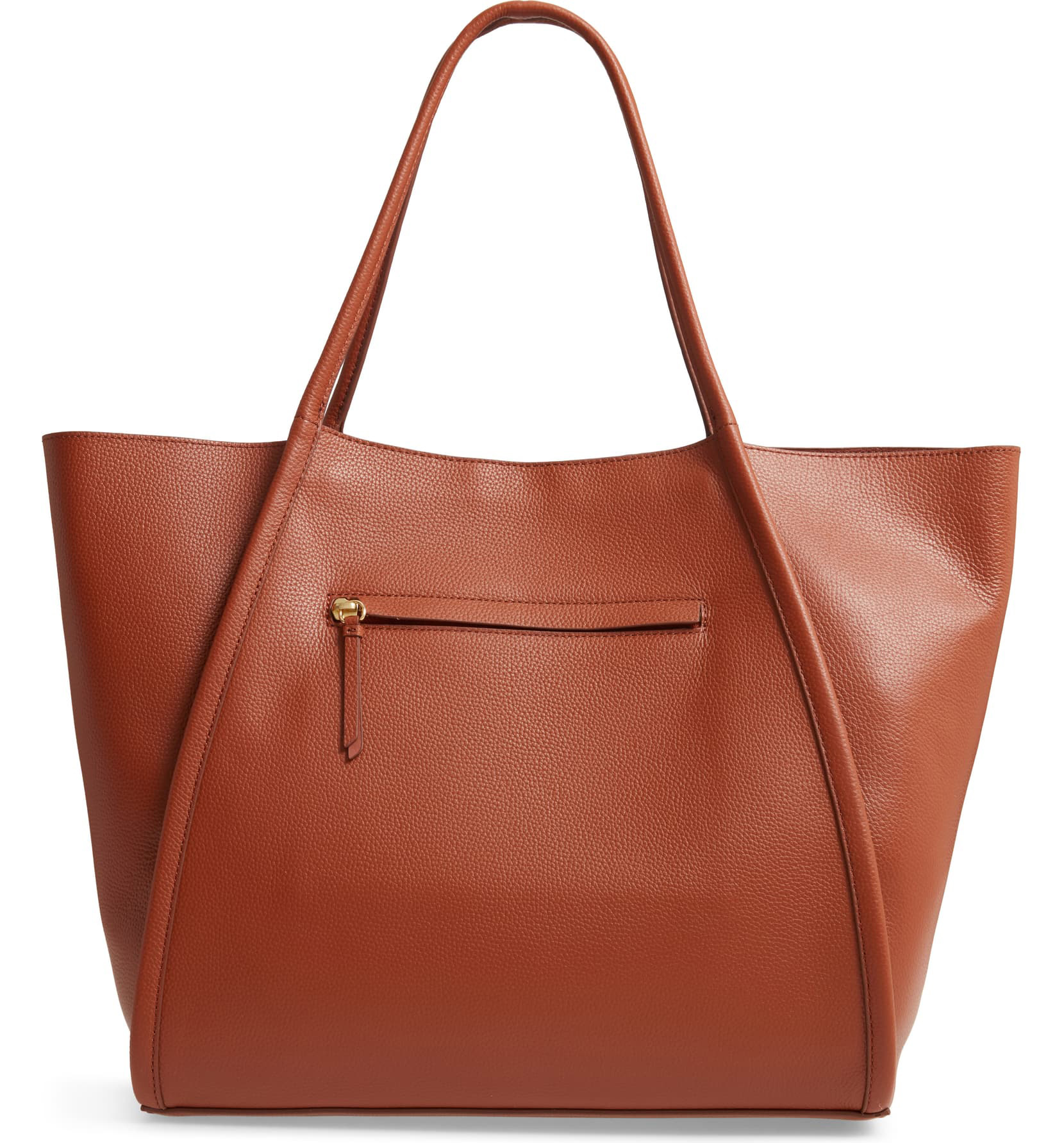 Oversize Leather Tote NORDSTROM