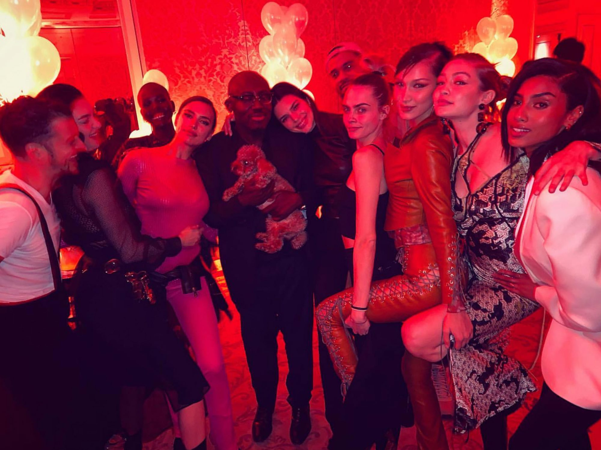 Edward Enninful's birthday party