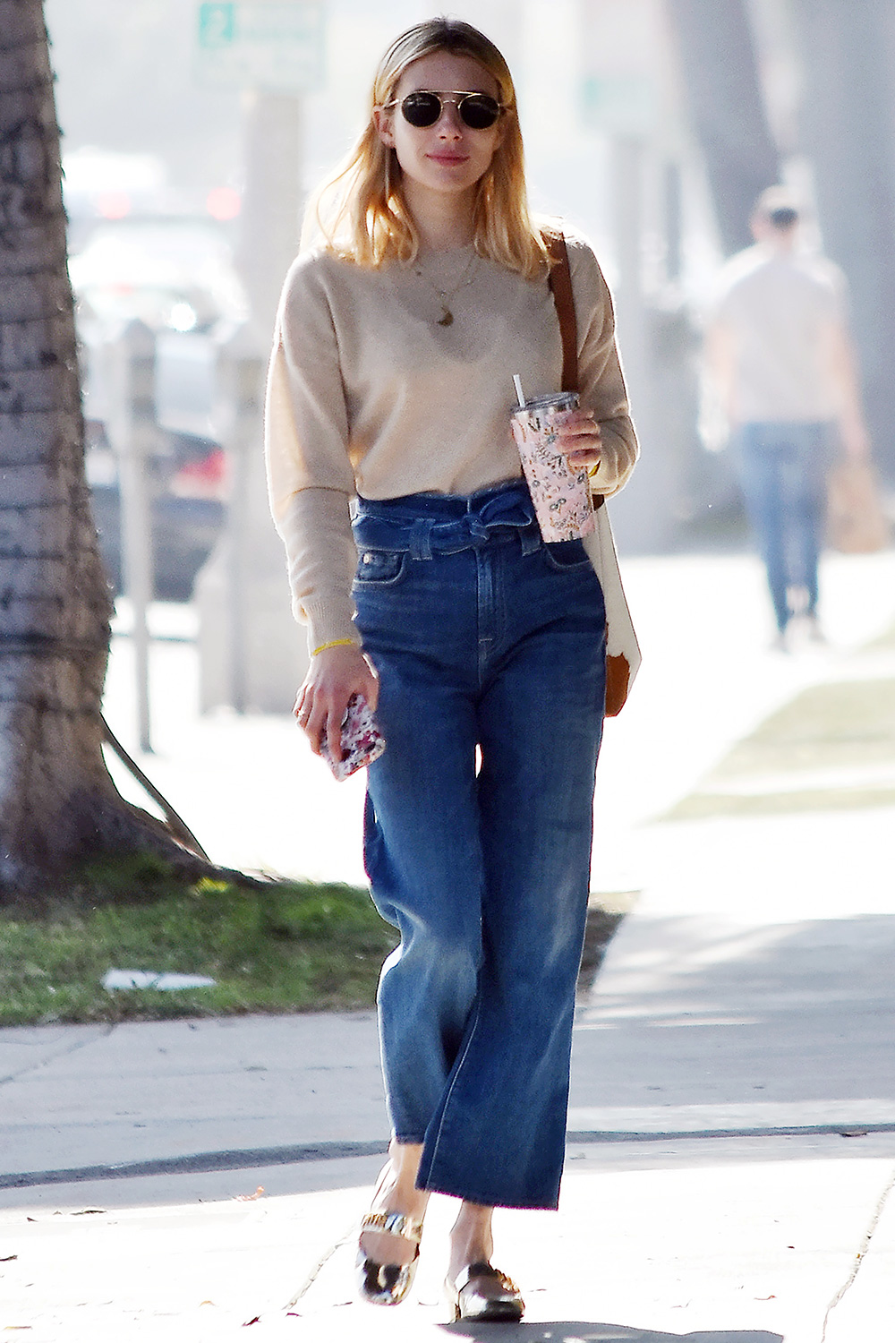 Emma Roberts strolling in Bveerly Hills. 08 Feb 2020