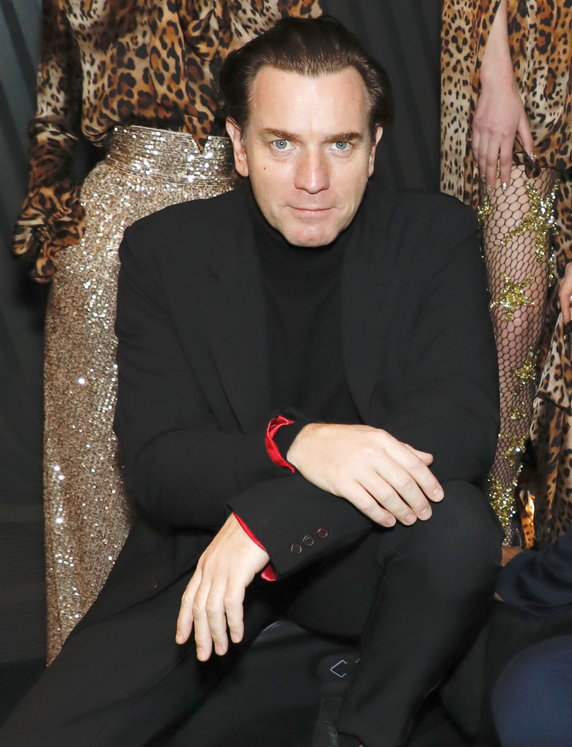 Ewan McGregor Naeem Khan show, Backstage, Fall Winter 2020, New York Fashion Week, USA - 11 Feb 2020