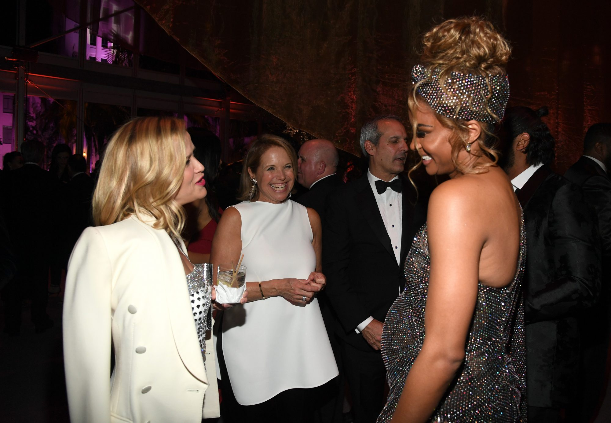Reese Witherspoon, Katie Couric, and Ciara