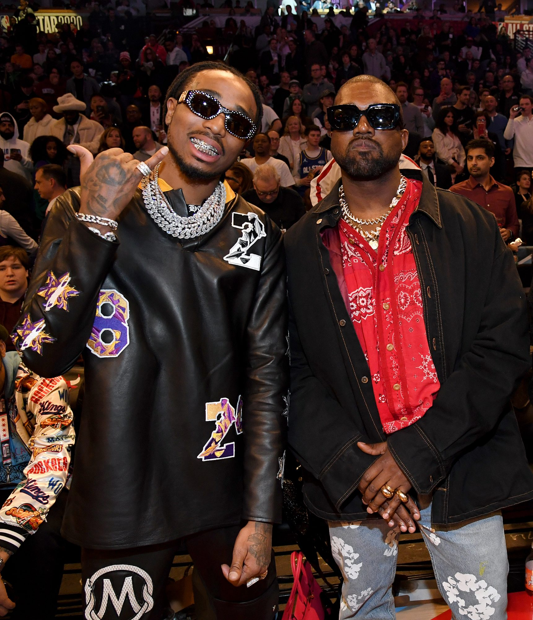 Quavo and Kanye West