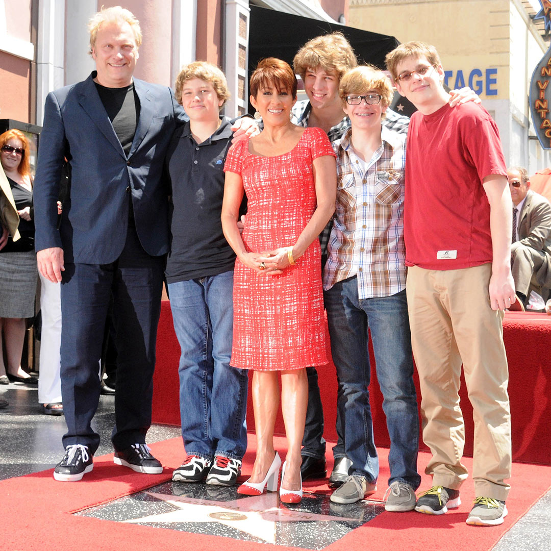 Patricia Heaton and sons