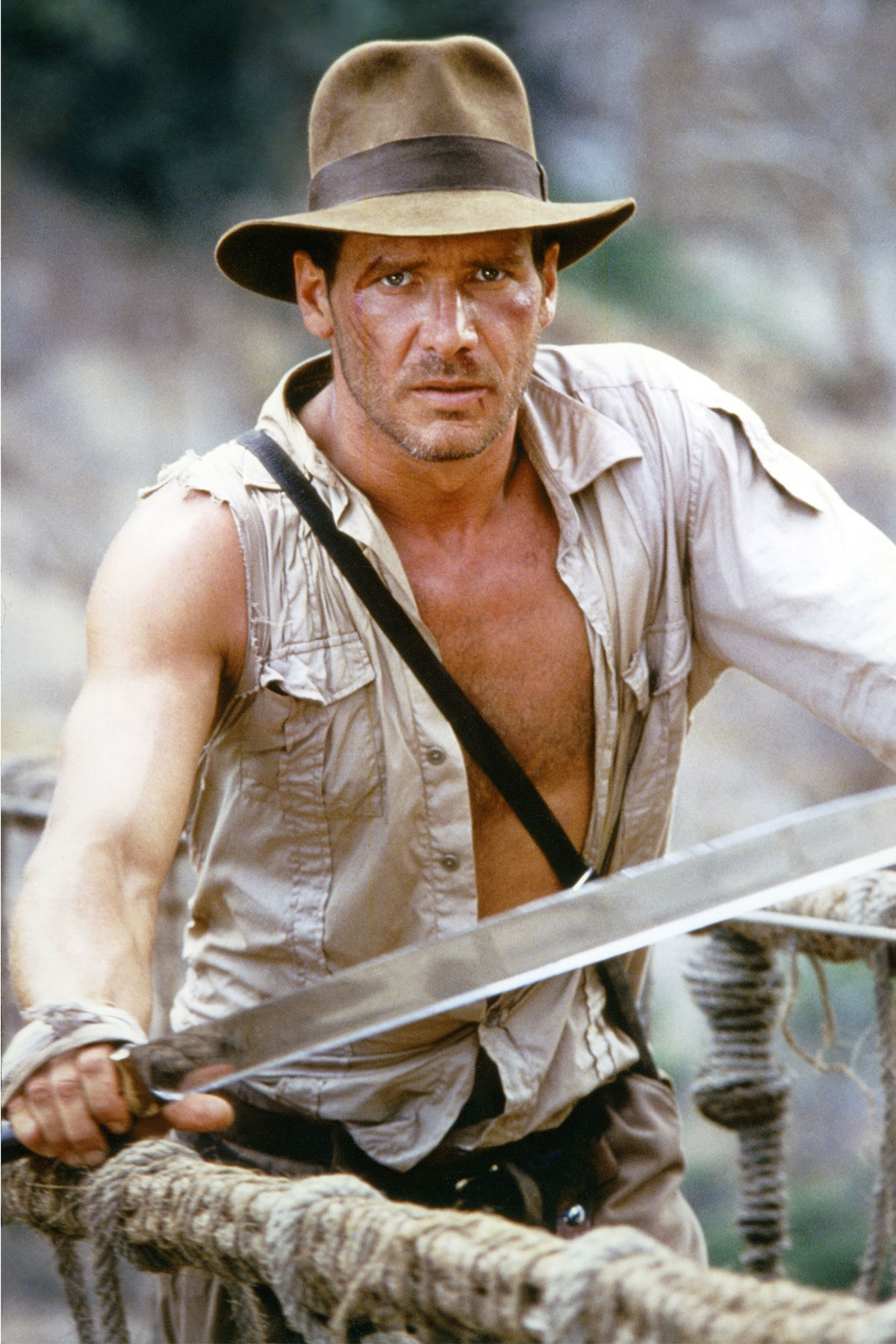 """On the Set of """"Indiana Jones and the Temple of Doom"""""""