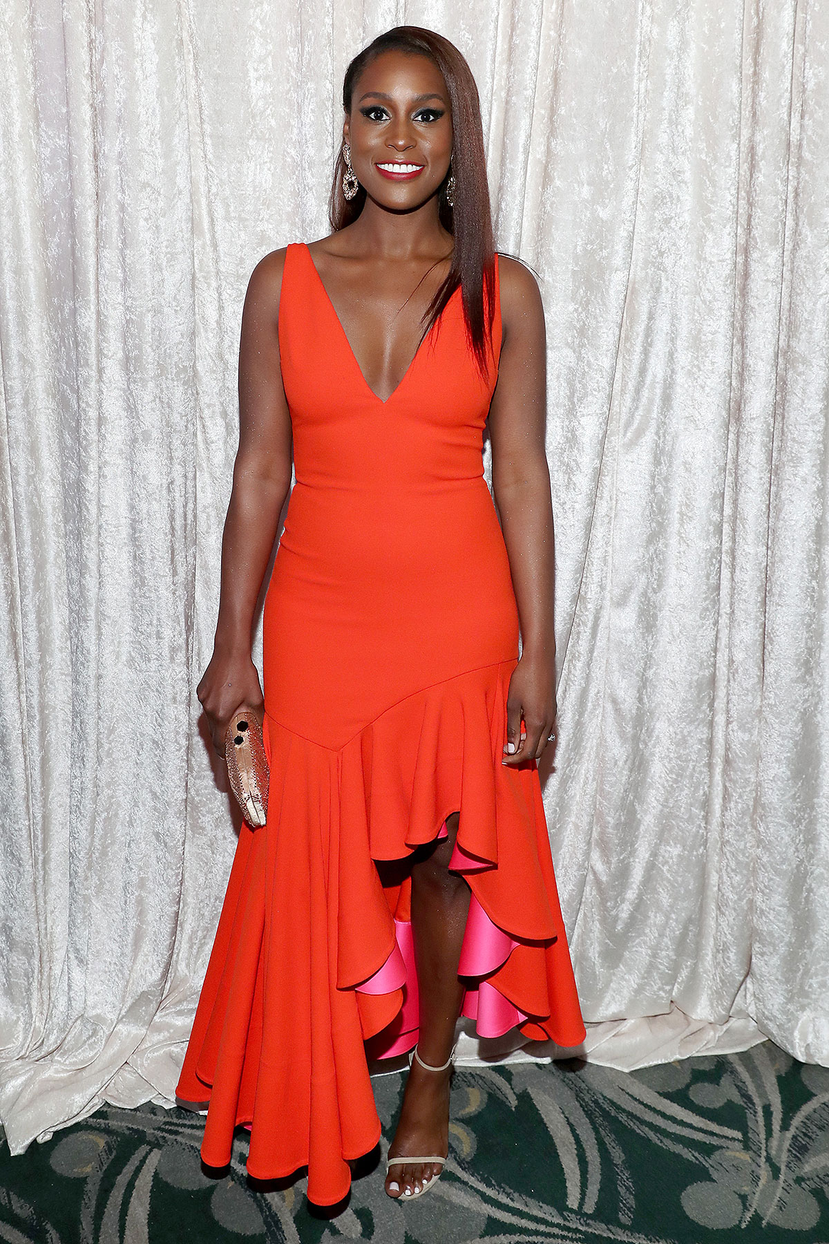 Issa Rae attends the 2020 13th Annual ESSENCE Black Women in Hollywood Luncheon at Beverly Wilshire, A Four Seasons Hotel on February 06, 2020 in Beverly Hills, California.