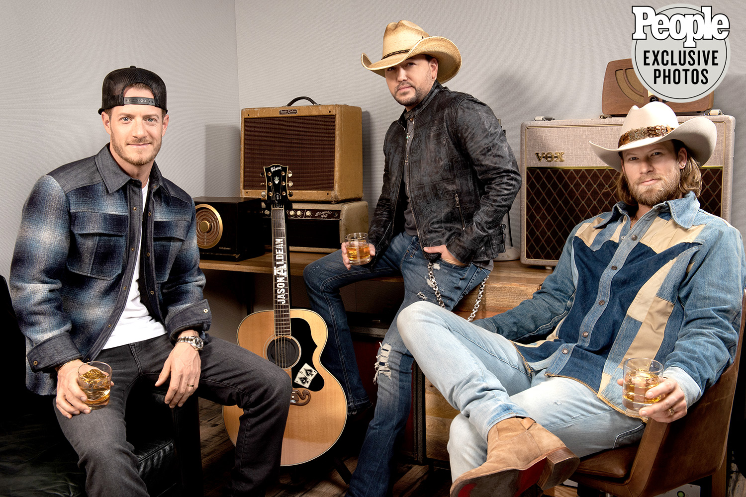 Whiskey Lovers' Jason Aldean and Florida Georgia Line Collaborate to Launch New Wolf Moon Bourbon