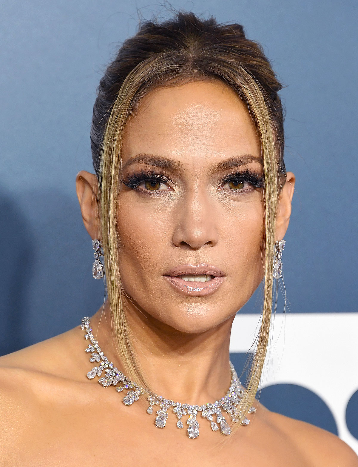 Jennifer Lopez attends the 26th Annual Screen ActorsGuild Awards at The Shrine Auditorium on January 19, 2020