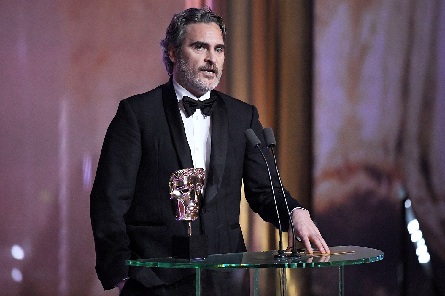 Joaquin Phoenix - Leading Actor - Joker Exclusive - 73rd British Academy Film Awards, Ceremony, Royal Albert Hall, London, UK - 02 Feb 2020