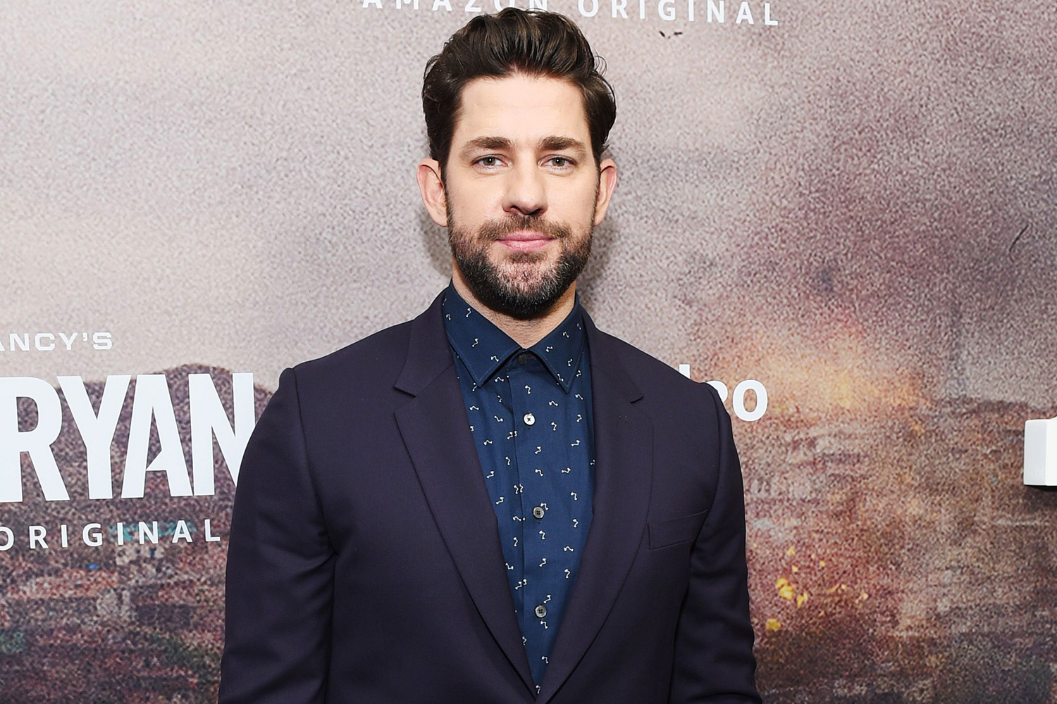 John Krasinski Tom Clancy's 'Jack Ryan' season two TV show premiere, Arrivals, New York, USA - 29 Oct 2019