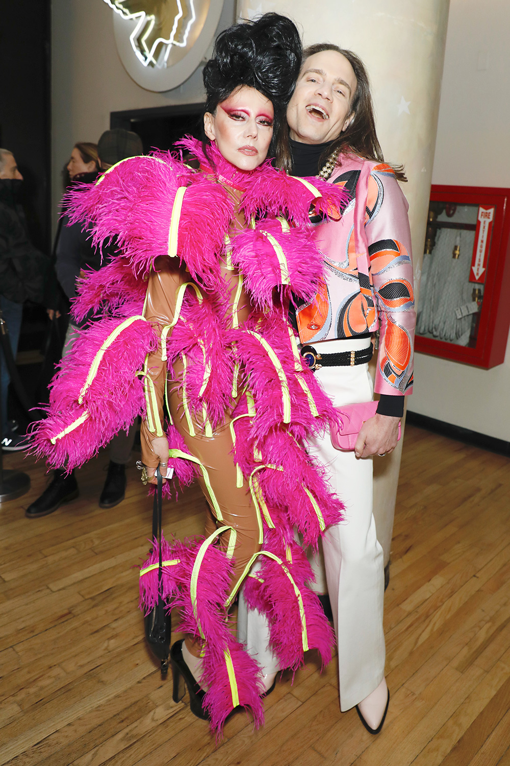 Susanne Bartsch and Jordan Roth 'The Times of Bill Cunningham' doucumentary special screening, New York, USA - 13 Feb 2020