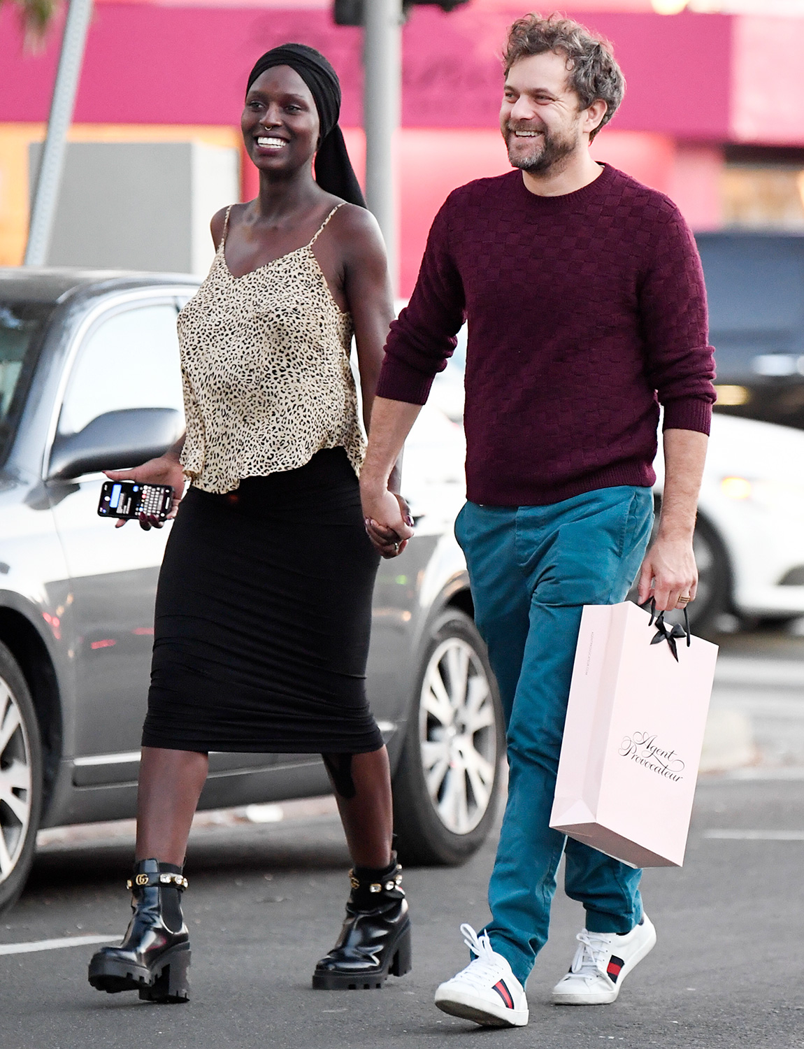 Joshua Jackson and Jodie Turner-Smith look like the perfect couple in Los Angeles