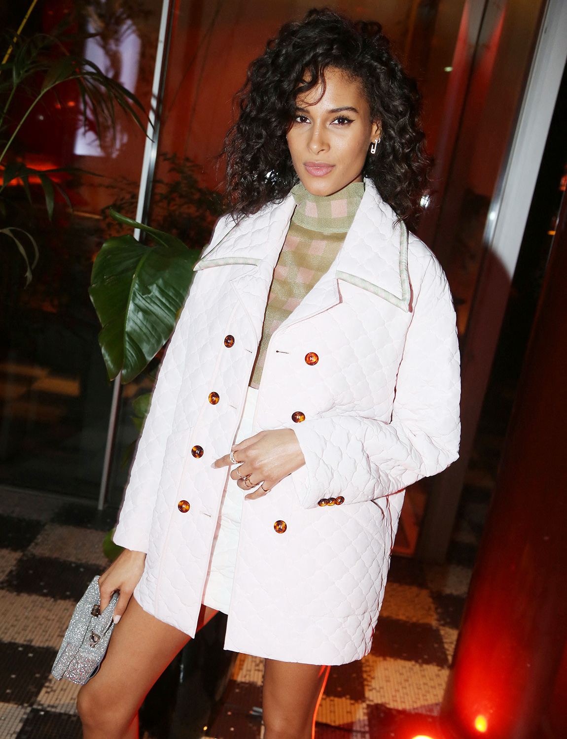 Cindy Bruna North America Rights Only - Paris, France -20200227- Women For Women Party