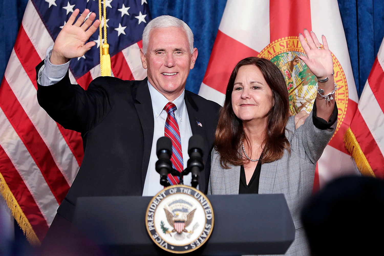 Karen Pence, wife of Vice President Mike Pence