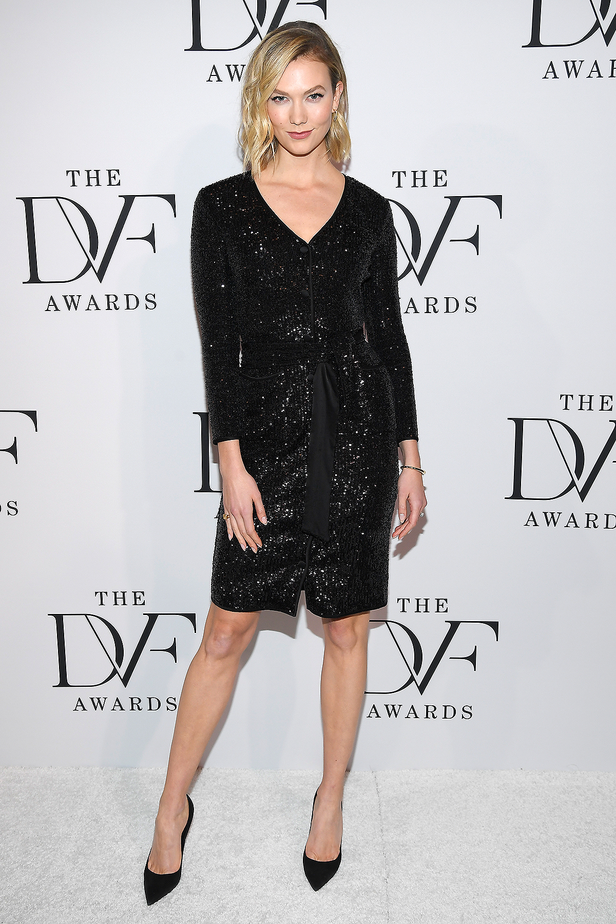 Karlie Kloss attends Diane von Furstenberg 2020 DVF Awards at on February 19, 2020 in Washington, DC.