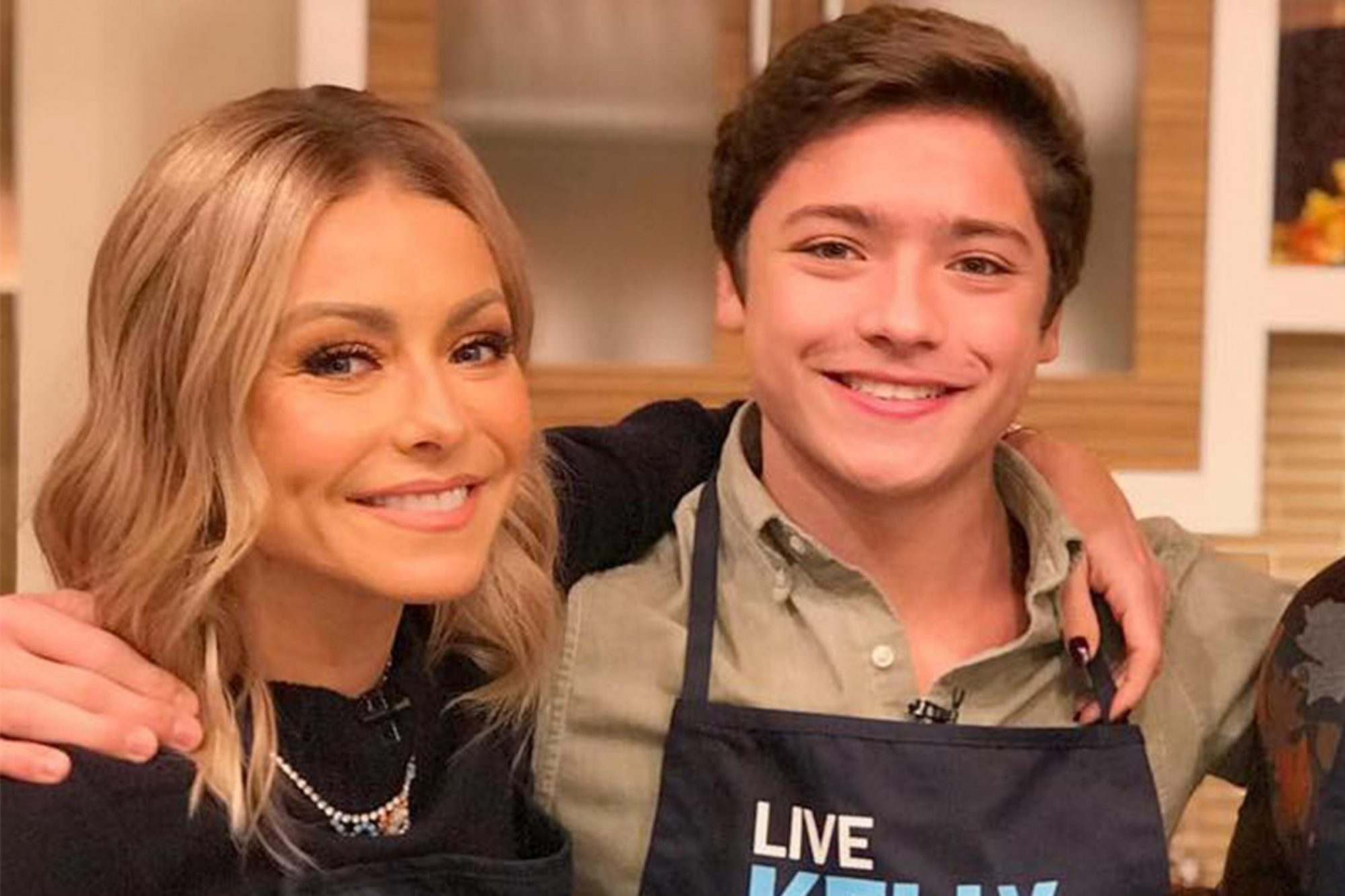 Kelly Ripa and Joaquin